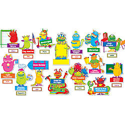 Scholastic Monsters At Work Bulletin Board