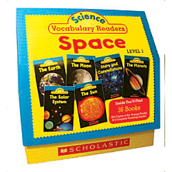 Scholastic Science Vocabulary Readers Space