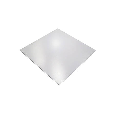"Floortex Cleartex XXL Ultmat Polycarbonate Chair Mat For Hard Floors/Low-Pile Carpet, 60"" x 60"", Clear"