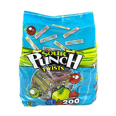 Sour Punch 4-Flavor Twists, 40 Oz Bag