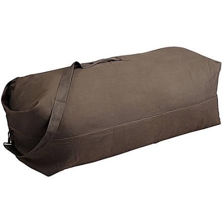 Stansport Canvas Duffel Bag, Green