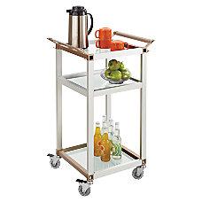 Safco 3 Shelf Refreshment Cart Small
