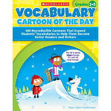 Scholastic Vocabulary Cartoon Of The Day