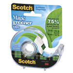 "Scotch® Magic™ 812 Greener Tape In Dispenser, 3/4"" x 16-5/16 Yd, Clear"