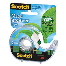 Scotch Magic Greener Tape In Dispenser