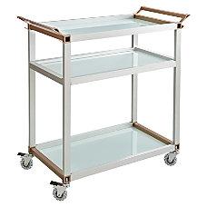 Safco 3 Shelf Refreshment Cart Large