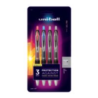 4-Pack Uni-ball 207 Retractable Fraud Prevention Gel Pens Deals