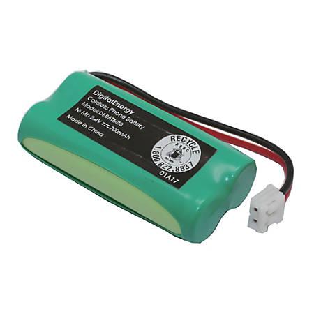 Digital Energy® Cordless Phone Battery, 2.4 Volts, 700 mAh Capacity, DEBAT6010