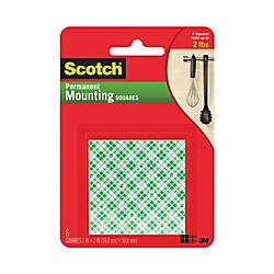 Scotch Permanent Foam Mounting Squares 2