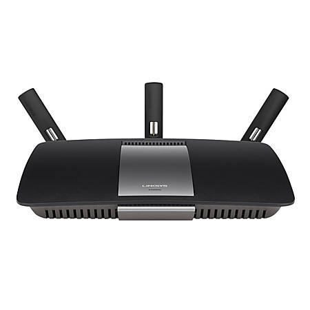 Linksys ea6900 ac1900 dual band smart wifi router by office depot linksys ea6900 ac1900 dual band smart greentooth Gallery