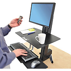 Ergotron WorkFit S Sit To Stand