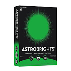 Astrobrights Color Card Stock 8 12