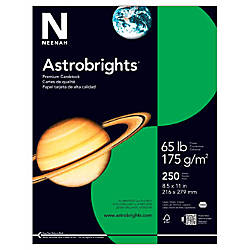 Astrobrights Colored Cardstock 8 12 x