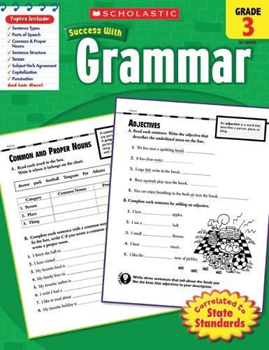 Scholastic Success With Grammar Workbook Grade 3 By Office Depot