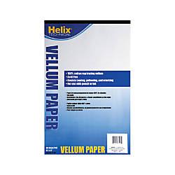 Helix Vellum Pad 11 x 17
