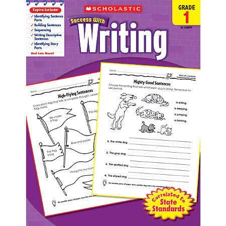 Scholastic Success With: Writing Workbook, Grade 1