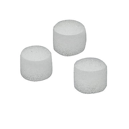 """MABIS Nebulizer Air Filters, 5/8""""H x 5/8""""W x 1/4""""D, Clear, Pack Of 10"""