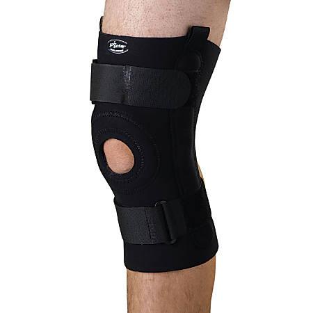 "CURAD® Neoprene U-Shaped Hinged Knee Supports, XL, 10 1/4"" x 16 - 18"""