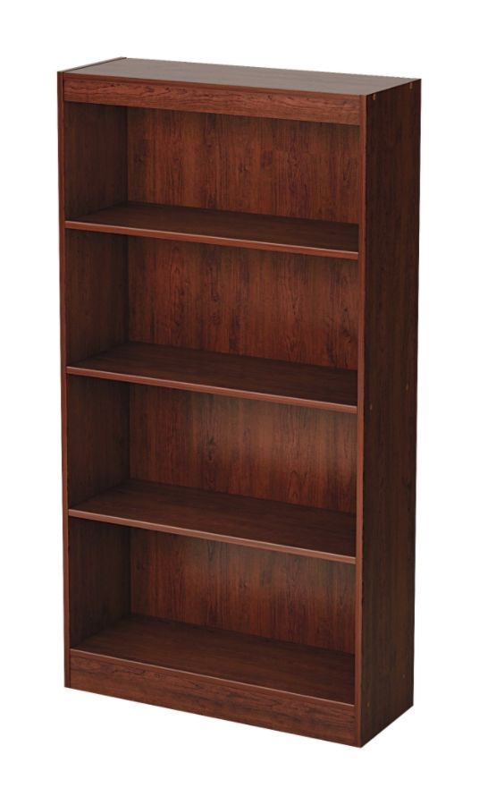 office depot bookcases wood. South Shore Axess 4 Shelf Bookcase Royal Cherry By Office Depot \u0026 OfficeMax Bookcases Wood