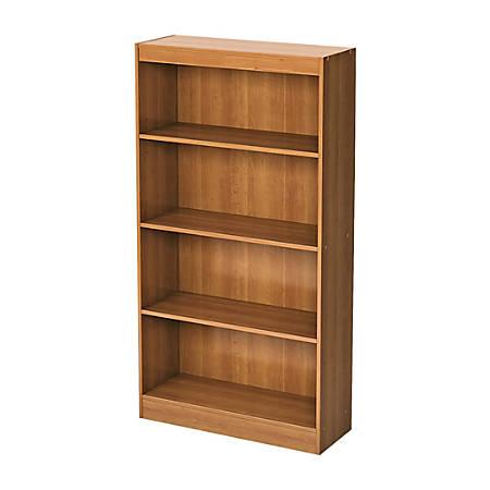 South Shore Axess 4-Shelf Bookcase, Morgan Cherry