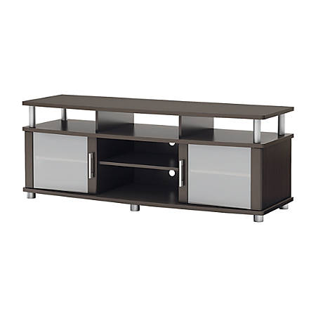 South Shore City Life TV Stand For TVs Up To 60'', Chocolate