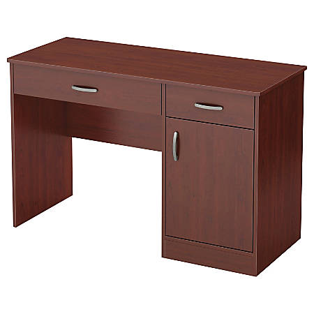 "South Shore Axess 43-3/4"" Computer Desk, Royal Cherry"