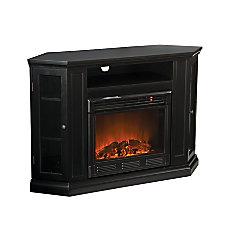 Southern Enterprises Claremont Electric Fireplace Media