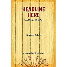 Custom Poster Chopping Board Vertical