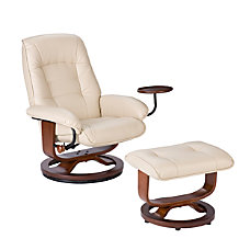Southern Enterprises Bay Hill Leather Reclining