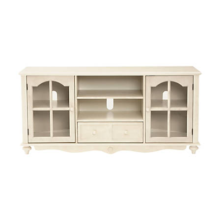Southern Enterprises Coventry Large TV Console, Antique White