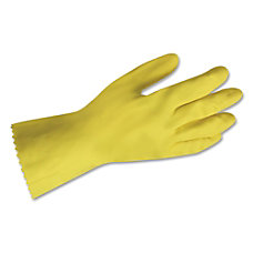 Impact Products Yellow Flock Lined Gloves