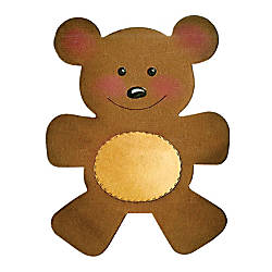 Sizzix Bigz Die Teddy Bear