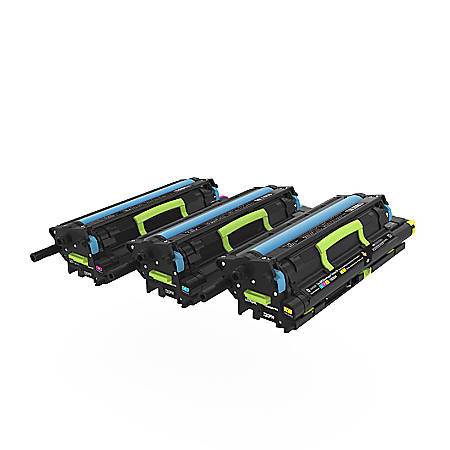 Lexmark™ Return Program Developer And Photoconductor Cartridges, 72K0FV0, Cyan/Magenta/Yellow
