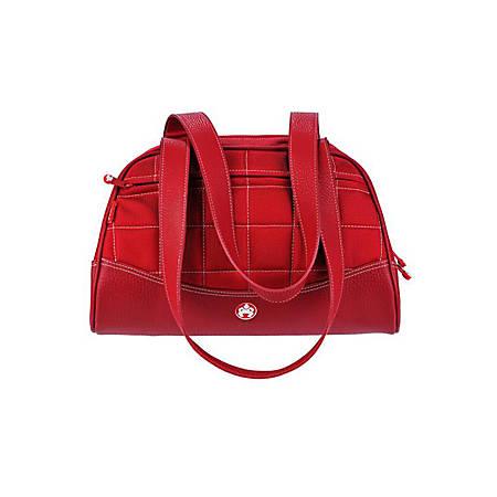 "Mobile Edge Sumo Duffel Medium Handbag - Duffel - 9.5"" x 15.5"" x 8"" - Ballistic Nylon - Red, White"