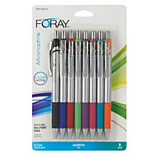 FORAY Advanced Ink Retractable Ballpoint Pens