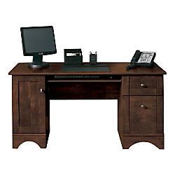 Realspace Dawson 60 Computer Desk Cinnamon