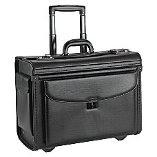 Lorell Rolling Laptop Catalog Case Black