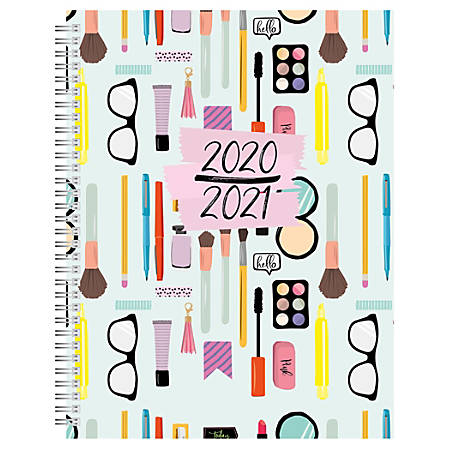 "Office Depot® Weekly/Monthly Academic Planner, 8-1/2"" x 11"", Makeup, July 2020 To June 2021, AY20MKUPSPL004"