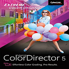 Cyberlink ColorDirector 5 Ultra Download Version