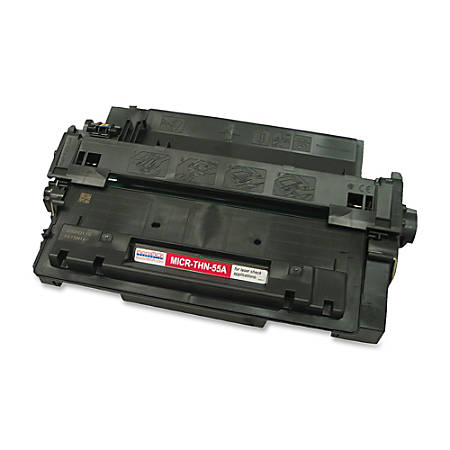 MicroMICR THN-55A (HP CE255A) Black MICR Toner Cartridge