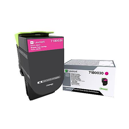 Lexmark™ 71B0030 Magenta Toner Cartridge
