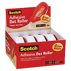 Scotch Adhesive Dot Roller Value Pack