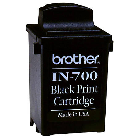 Brother® IN-700 Black Ink Cartridge