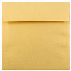 JAM Paper Square Stardream Metallic Envelopes
