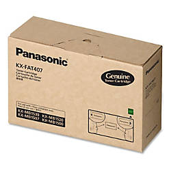 Panasonic KXFAT407 Original Toner Cartridge Laser