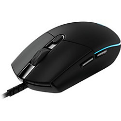 281e390e38ca Logitech Pro Gaming Mouse - Optical - Cable - Black - USB 2.0 - 12000 dpi -  Scroll Wheel - 6 Button(s) - Right-handed Only