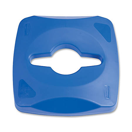 Rubbermaid® Square Recycling Container Combo Lid