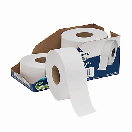Georgia-Pacific® by GP PRO Professional Series™ Convenience Pack Jumbo Jr. Roll 2-Ply Toilet Paper, 1000' Roll, Case Of 4 Rolls