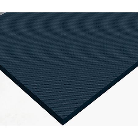 "The Andersen Company CompleteComfort Antimicrobial Floor Mat, 48"" x 72"", Black"