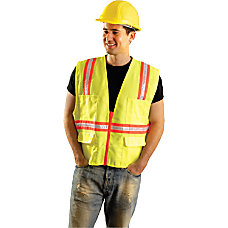 Non ANSI Contractor Style Solid Vests